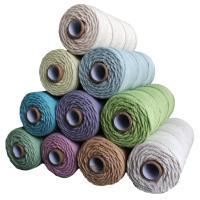 Baumwollschnur, Baumwolle, DIY, keine, frei von Nickel, Blei & Kadmium, 3mm, 100m/Spule, verkauft von Spule