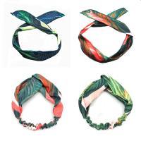 Stirnband, Stoff, verschiedene Stile für Wahl & für Frau, 22x73mm, verkauft von PC