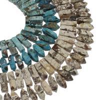 Achat Perlen, keine, 30x11mm/32x12mm, Bohrung:ca. 2mm, ca. 32PCs/Strang, verkauft von Strang