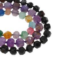 Natürliche Drachen Venen Achat Perlen, Drachenvenen Achat, keine, 16x17mm, Bohrung:ca. 2mm, ca. 28PCs/Strang, verkauft von Strang