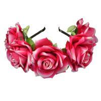 Haarreif, Baumwollsamt, Blume, für Frau, keine, 180mm, verkauft von PC