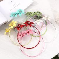 Strass Collier, Blume, Folk-Stil & für Frau, keine, frei von Nickel, Blei & Kadmium, 160mm, 2PCs/Menge, verkauft von Menge