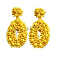 Seedbead Tropfen Ohrring, mit Acryl, verschiedene Stile für Wahl & für Frau, verkauft von Paar