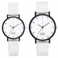 Unisexe Armbanduhr, Zinklegierung, mit PU Leder, plattiert, keine, frei von Nickel, Blei & Kadmium, 230x17x8mmuff0c210x13x8mm, verkauft von PC