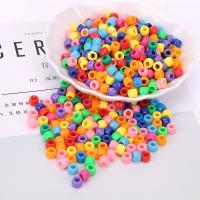 Polystyrol Perle, plattiert, DIY, gemischte Farben, 6mm, 500G/Tasche, verkauft von Tasche
