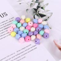 Acryl Schmuck Perlen, plattiert, DIY & facettierte, gemischte Farben,  10*8mm, 500G/Tasche, verkauft von Tasche