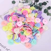 Acryl Schmuck Perlen, plattiert, DIY, gemischte Farben,  15mm, 500G/Tasche, verkauft von Tasche