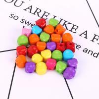 Acryl Schmuck Perlen, plattiert, DIY, gemischte Farben,  10mm, 500G/Tasche, verkauft von Tasche