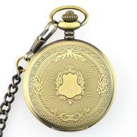 Mode Halskette Uhr, Zinklegierung, plattiert, unisex, keine, frei von Nickel, Blei & Kadmium, 15x47mm, Länge:ca. 14.77 ZollInch, 2PCs/Menge, verkauft von Menge