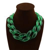 Acryl Halskette, für Frau, keine, frei von Nickel, Blei & Kadmium, 450mm, 2SträngeStrang/setzen, verkauft von setzen