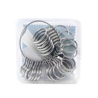 Zinklegierung mit Nichtgewebte Stoffe, plattiert, verschiedene Stile für Wahl, frei von Nickel, Blei & Kadmium, verkauft von setzen