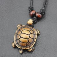 Harz Halskette, mit Nylon, Schildkröter, unisex, keine, 50-80cm, verkauft von Strang