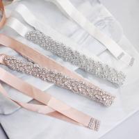 Ziergürtel, Strass, mit Seide, für Frau & mit Strass, keine, 43cm, verkauft von PC