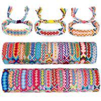 Baumwollfaden Armband, Folk-Stil & für Frau, keine, frei von Nickel, Blei & Kadmium, 160mm, verkauft von Strang