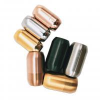Edelstahl Magnetverschluss, plattiert, verschiedene Größen vorhanden, keine, 50PCs/Menge, verkauft von Menge