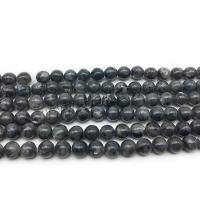 Labradorit Perlen, rund, poliert, DIY & verschiedene Größen vorhanden, Bohrung:ca. 1mm, verkauft von Strang