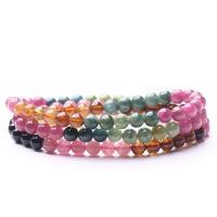 Natürliche Turmalin Armband, für Frau, farbenfroh, 18cm ,5mm, verkauft von PC