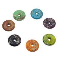 Imperial-Jaspis Anhänger, Impression Jaspis, Kreisring, keine, 30*7mm, Bohrung:ca. 4mm, verkauft von PC