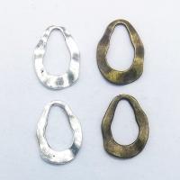 Verschiedene Komponente, Zinklegierung, plattiert, hohl, keine, frei von Nickel, Blei & Kadmium, 24x18x1.80mm, 100PCs/Tasche, verkauft von Tasche
