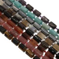 Edelstein Schmuckperlen, verschiedenen Materialien für die Wahl & facettierte, 16x12x12mm, Bohrung:ca. 1mm, verkauft per ca. 14.9 ZollInch Strang