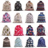 Baumwollgewebe Kunstdruck, verschiedene Größen vorhanden, 50PCs/Tasche, verkauft von Tasche