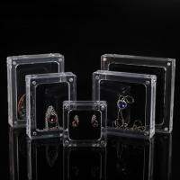 Mode Schmuckständer, Acryl, mit Magnet & verschiedene Stile für Wahl, klar, verkauft von PC