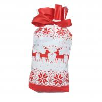 Weihnachtsgeschenkbeutel, Kunststoff, Kunstdruck, verschiedene Muster für Wahl, 235*150mm, 50PC/Tasche, verkauft von Tasche