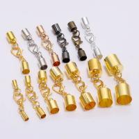 Eisen Armbänder Zubehöre, plattiert, DIY & verschiedene Größen vorhanden, keine, frei von Nickel, Blei & Kadmium, 10SetsSatz/Tasche, verkauft von Tasche