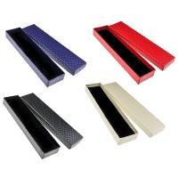Karton Halskettenkasten, Papier, Rechteck, keine, 205x50x24mm, 50PCs/Menge, verkauft von Menge
