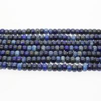 Lapislazuli Perlen, verschiedene Größen vorhanden, blau, Bohrung:ca. 1mm, verkauft per ca. 14.9 ZollInch Strang