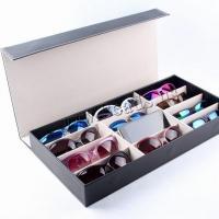 PU Leder Brillenetui, unisex, keine, 480x240x60mm, verkauft von PC