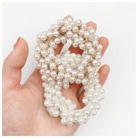 Pferdeschwanz-Halter, Kunststoff Perlen, mit elastischer Faden, für Frau, keine, 70mm, verkauft von PC