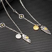 Titanstahl Pullover Halskette, plattiert, für den Menschen, keine, verkauft per ca. 25.6 ZollInch Strang