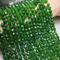 Taiwan Jade Perle, poliert, DIY & verschiedene Größen vorhanden & facettierte, grün, verkauft per ca. 15 ZollInch Strang
