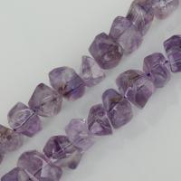 Amethyst Perle, violett, 12x16mm, Bohrung:ca. 1.5mm, ca. 37PCs/Strang, verkauft per ca. 15.5 ZollInch Strang
