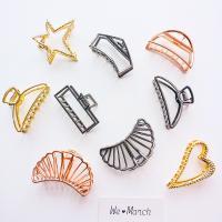 Haarklammer, Zinklegierung, verschiedene Stile für Wahl & für Frau, frei von Nickel, Blei & Kadmium, verkauft von PC