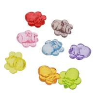 Acryl Anhänger, Biene, DIY & transparent, gemischte Farben, 25x21x13mm, Bohrung:ca. 2mm, ca. 158PCs/Tasche, verkauft von Tasche