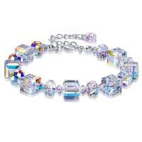 Kristall Armbänder, verschiedene Stile für Wahl & für Frau, frei von Nickel, Blei & Kadmium, 7mm, verkauft per 7 ZollInch Strang