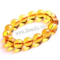 Gelbquarz Perlen Armband, unisex & verschiedene Größen vorhanden, verkauft von Strang