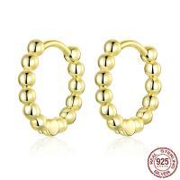 925er Sterling Silber Hebel Rückseiten Ohrring, plattiert, für Frau, keine, 12mm, verkauft von Paar