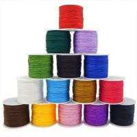 Mode Schnur Schmuck, Nylon Polypropylen, mit Kunststoffspule, DIY, keine, 0.80mm, ca. 55m/Spule, verkauft von Spule