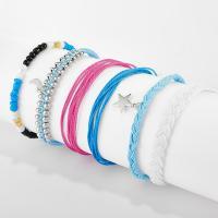 Mode Wachsschnur Armbänder, Armband, mit Seedbead, für Frau, 18cm,19cm,23cm, verkauft von Menge
