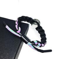 Modezeit Gem Armband, Terylen Schnur, mit Zinklegierung, verschiedene Muster für Wahl & für Frau, keine, frei von Nickel, Blei & Kadmium, 15mm, verkauft von PC