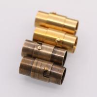 Messing Magnetverschluss, plattiert, DIY, keine, frei von Nickel, Blei & Kadmium, verkauft von PC
