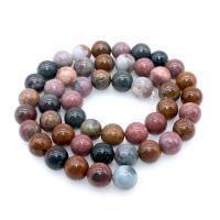 Ozean Achat Perle, verschiedene Größen vorhanden, gemischte Farben, 390mm, 10SträngeStrang/Menge, verkauft von Menge