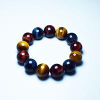 Tigerauge Perlen, verschiedenen Qualitäten für die Wahl & verschiedene Größen vorhanden, keine, verkauft per ca. 16 ZollInch Strang