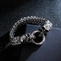Edelstahl Schmuck Armband, plattiert, verschiedene Größen vorhanden & für den Menschen, 220x11mm, verkauft von Strang