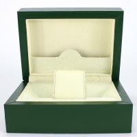 Uhr Schmuckkasten, MDF, Quadrat, dunkelgrün, 178x128x75mm, verkauft von PC