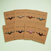 Harz Armbänder, Terylen Schnur, mit Harz, für Frau, keine, 9.5x7cm, verkauft von Strang