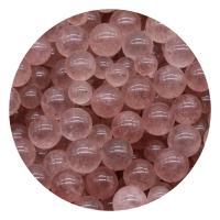 Strawberry Quartz Perle, rund, poliert, DIY & verschiedene Größen vorhanden & kein Loch, verkauft von PC